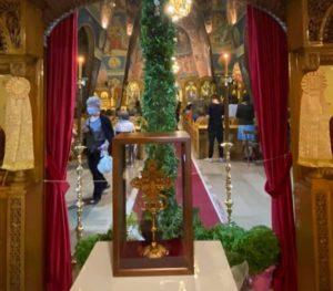 Παπάγου Χολαργός: Πανηγυρικός Εσπερινός στον Ιερό Ναό Υψώσεως Τιμίου Σταυρού Χολαργού
