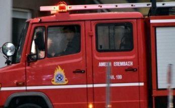 Μαρούσι: Φωτιά ξέσπασε νωρίς το μεσημέρι σε μάντρα αυτοκινήτων στο Μαρούσι