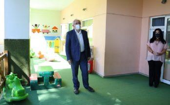 Μαρούσι: Επίσκεψη του Δημάρχου Αμαρουσίου στους παιδικούς και βρεφονηπιακούς σταθμούς της πόλης