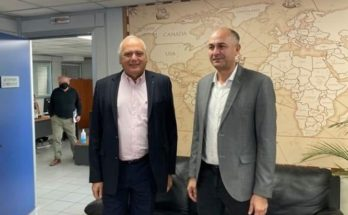 Μεταμόρφωση: Με τον διευθύνοντα σύμβουλο της ΕΕΤΑΑ συναντήθηκε σήμερα ο Δήμαρχος
