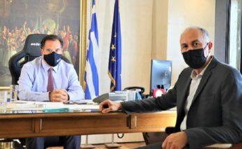 Μεταμόρφωση: Συνάντηση του Δήμαρχου με τον Υπουργό Ανάπτυξης