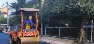 Μεταμόρφωση: Σε εξέλιξη βρίσκεται το έργο της ασφαλτόστρωσης του οδικού δικτύου της πόλης