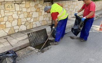 Πεντέλη: Ο έγκαιρος καθαρισμός των φρεατίων περιόρισαν στο ελάχιστο τα προβλήματα στο Δήμο κατά τη διάρκεια των πρόσφατων καιρικών φαινομένων