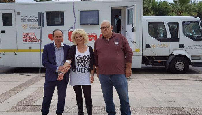 Ραφήνα Πικέρμι: Με αθρόα προσέλευση πραγματοποιείτε από το πρωί η Αιμοδοσία του Δήμου