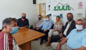 ΣΠΑΠ : Επίσκεψη κλιμακίου Πράσινου Κινήματος στα γραφεία του Συνδέσμου