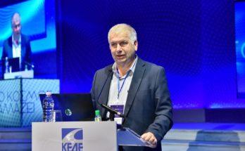 Ο Πρόεδρος της Επιτροπής Πολιτικής Προστασίας και Αντιπρόεδρος του Επ. Συμβ. της ΚΕΔΕ και Πρόεδρος του ΣΠΑΠ Β. Σιώμος ομιλητής-εισηγητής στο Ετήσιο Τακτικό Συνέδριο της ΚΕΔΕ που πραγματοποιήθηκε στη Θεσσαλονίκη
