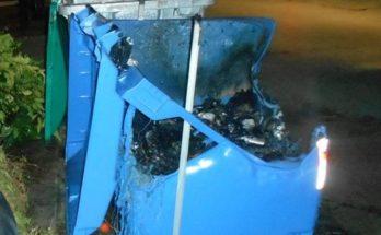Χαλάνδρι: Απορριμματοφόρο του Δήμου απειλήθηκε με φωτιά από εύφλεκτα υλικά στον μπλε κάδο