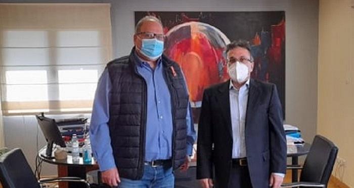 Χαλάνδρι: Συνάντηση του Δήμαρχου με τον γραμματέα του Περιφερειακού Συμβουλίου Αττικής